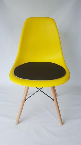"""Sitzkissen """"einfach"""" aus ECO Filz passend für Eames Chair"""