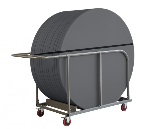 Tischwagen Trollie xl für runde Tische 180 Durchmesser