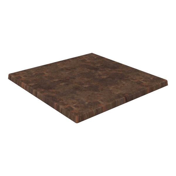 WERZALIT®-Tischplatten Classic, 223 rostbraun