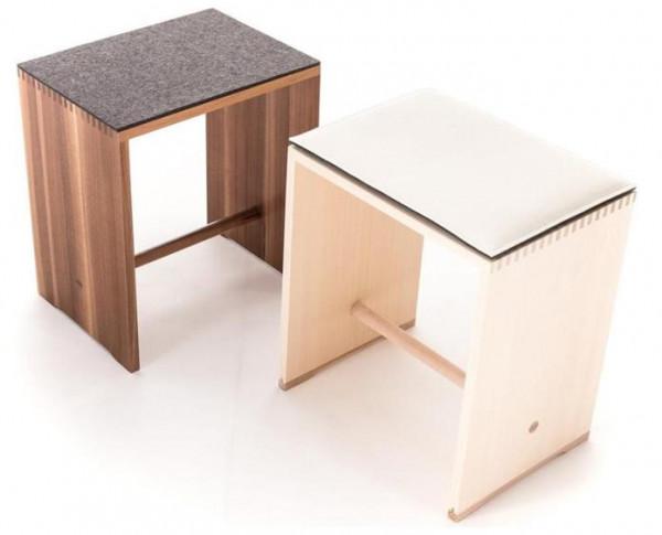 """Eckiges Sitzkissen """"einfach"""" 36 x 32 cm aus ECO-Filz in Ihrer Wunschfarbe"""