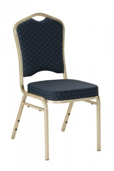Bankett Stuhl T68123 silber/schwarz