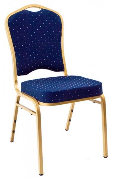 Bankett Stuhl T68123 gold/blau