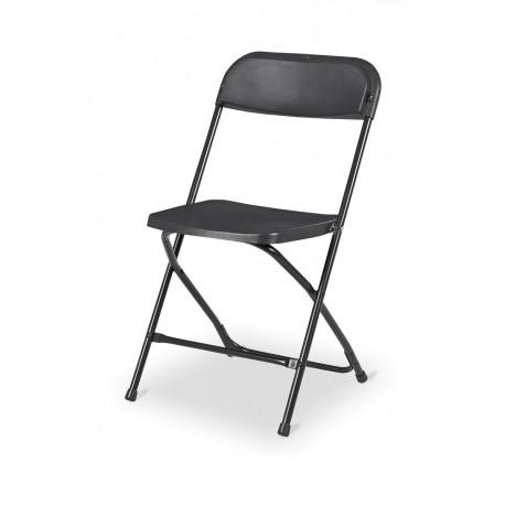 Klappstuhl 2 Farben Schwarz weiß