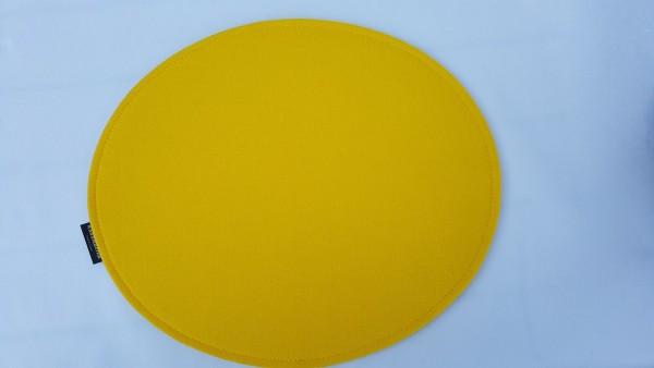 """Rundes Sitzkissen """"doppelt"""" aus ECO-Filz in Ihren Wunschfarben"""