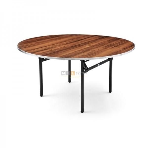 Konferenz- & Banketttisch klappbar RUND, Durchmesser 140x76 cm (DxH)